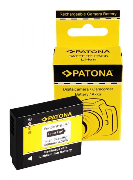 Akku f. Panasonic DMW-BLH7 Lumix DMCGM1 DMC-GM1 von PATONA