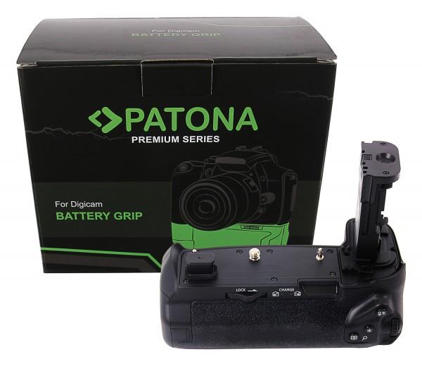 PATONA Premium Batteriegriff BG-E22 für Canon EOS-R für 2 x LP-E6N Akku inkl. Fernbedienung