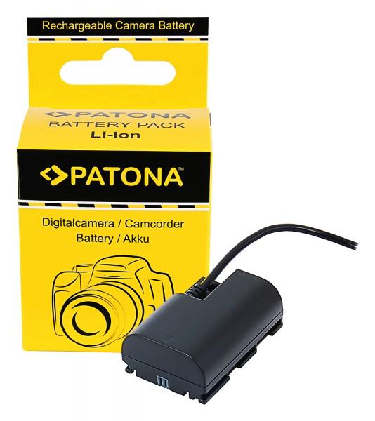 PATONA D-TAP Input Akku-Adapter für Canon LP-E6N XC10 EOS R EOS 80D 7D 70D 6D 60D