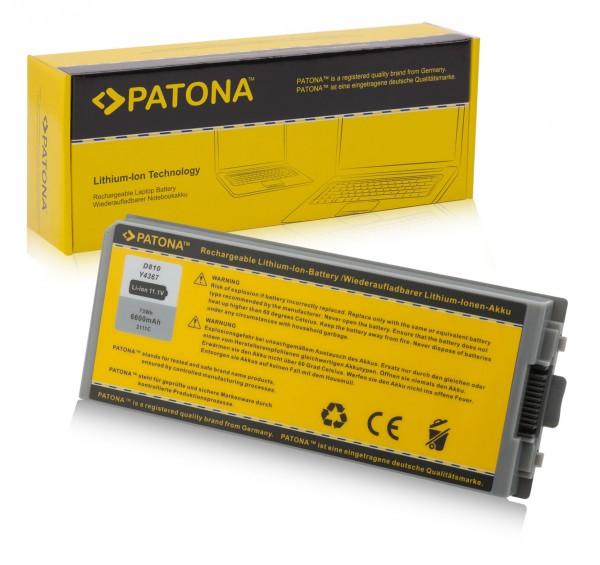 Akku f. Dell D810 Latitude D810 D810 Precision M70 von PATONA