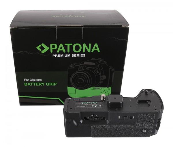 PATONA Premium Batteriegriff für Panasonic G80 G85 für 1 x DMW-BLC12 Akku inkl. Fernbedienung 2,4G