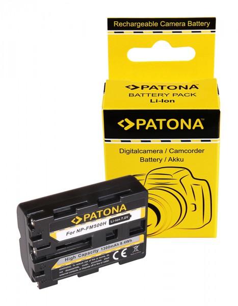 Akku f. Sony NP-FM500H Alpha DSLRA200 DSLR-A200 DSLRA300 DSLR-A300 von PATONA