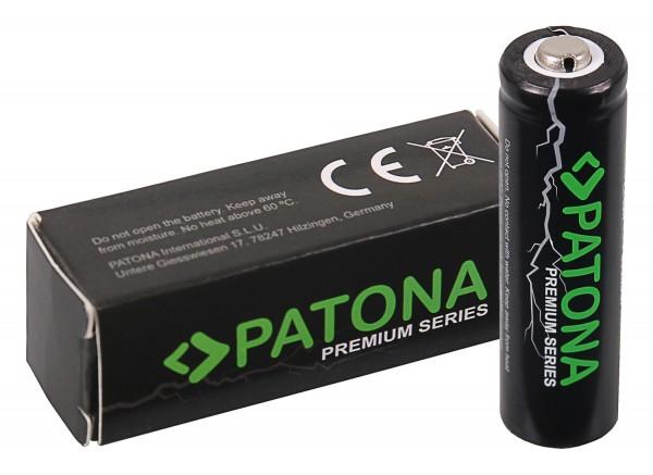 PATONA Premium 14500 Zelle ICR14500 Li-Ion Akku 3,7V 800mAh