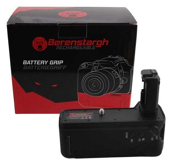 Berenstargh Batteriegriff für Sony A7 II, A7M2 A7R2 VG-C2EMRC für 2 x NP-FW50 Akkus inkl. Fernbedien