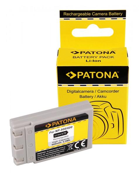 Akku f. Konica Minolta DR-LB4 Minolta NP-500 600 Digital Revio KD310Z von PATONA