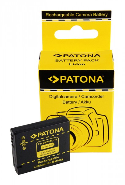 Akku f. Panasonic DMW-BCJ13 Lumix DMCLX5 DMC-LX5 DMCLX5K DMC-LX5K von PATONA