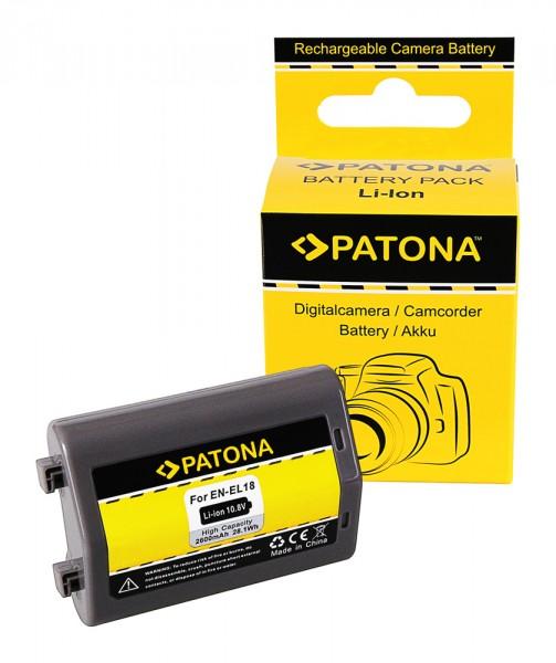 Akku f. Nikon EN-EL18 D4 D4s von PATONA