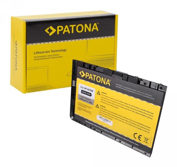 PATONA Akku f. HP EliteBook Folio 9470 9470m Series HSTNN-I10C