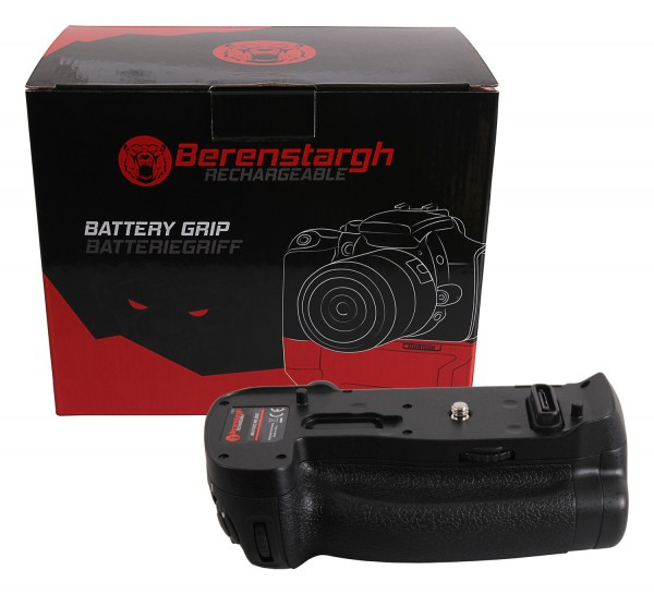 Berenstargh Batteriegriff für Nikon D850 MB-D18RC für 1 EN-EL15 Akku inkl. Fernbedienung 2,4G