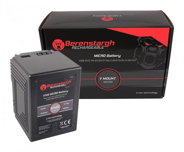 Berenstargh MICRO V145 V-Mount Akku mit 142Wh für Sony DSR 600P, 650P, 652P, HDW 800P, PDW 850,