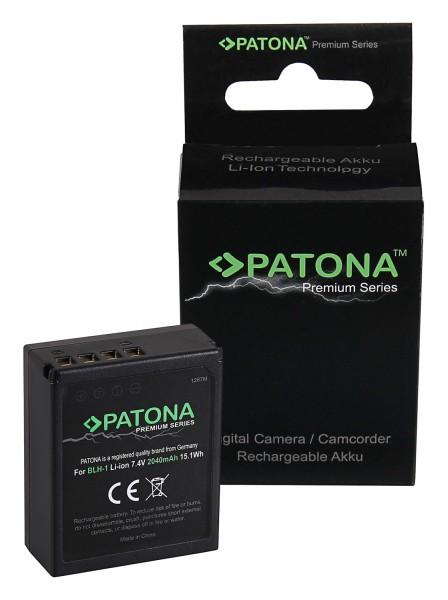 PATONA Premium Akku volldecodiert f. Olympus BLH-1 OM-D EM-1 Mark 2 EM-1 Mark II BLH-1 E-M1X