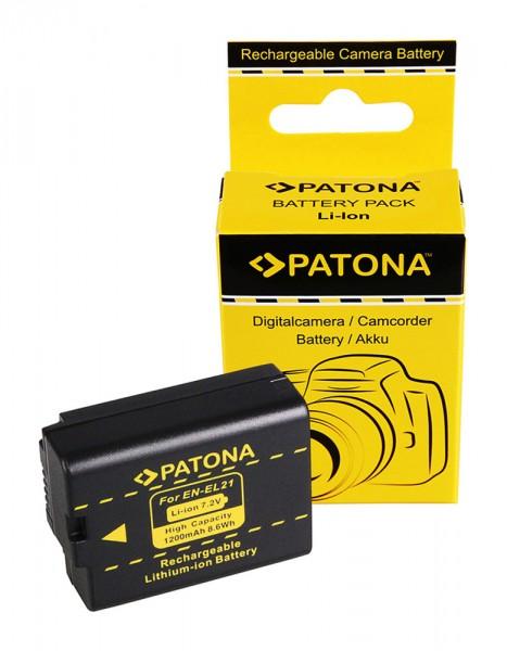 Akku f. Nikon EN-EL21 V2 von PATONA