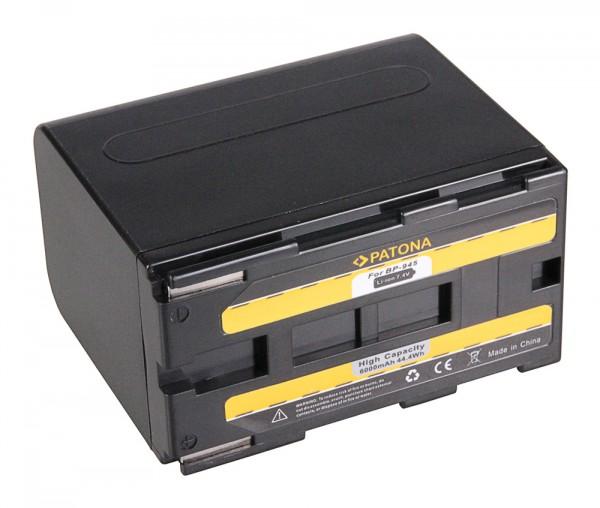 Akku f. Canon BP-941 BP-945 PowerShot E1 E2 E30 BP-941 BP-945 C2 DMMV1 von PATONA