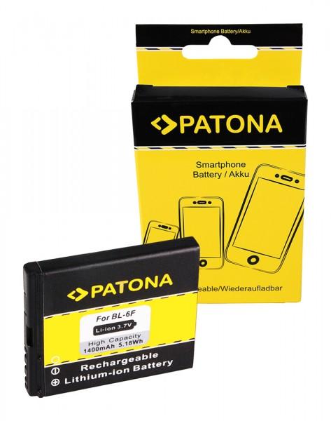 Akku f. Nokia N95 8GB N78 N79 N958GB N95-8GB von PATONA