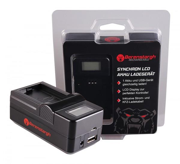 Berenstargh Synchron USB Ladegerät f. Canon BP-110 Legria HF 206 HF 28 HF R26