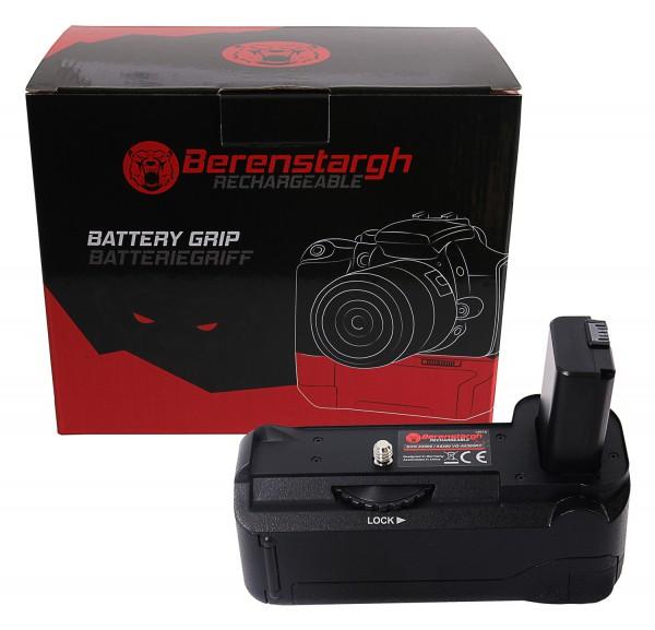 Berenstargh Batteriegriff VG-A6300 für Sony A6000 A6300 A6400 für NP-FW50 Akku inkl. Fernbedienung