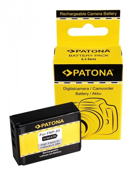 Akku f. Fujifilm NP-85 Finepix F305 SL240 SL260 SL280 SL300 SL305 von PATONA