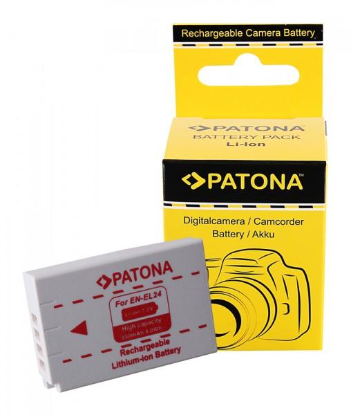 Akku f. Nikon EN-EL24 1 J5 von PATONA
