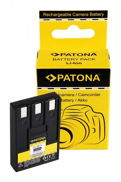 Akku f. Canon NB-3L Digital Ixus 700 750 I II IV NB-3L IXY Digital 30 von PATONA