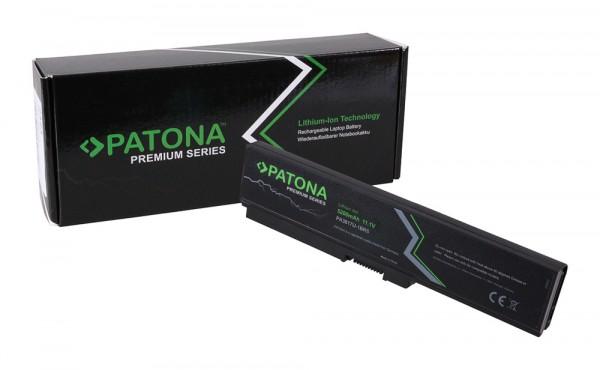Premium Akku f. Toshiba PA3817 Satellite A600 A655 A660 A660D A665 von PATONA