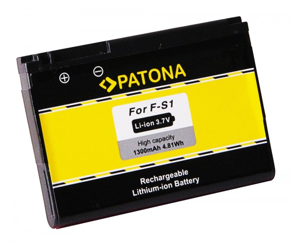 Akku f. Blackberry F-S1 9800 9810 Torch von PATONA